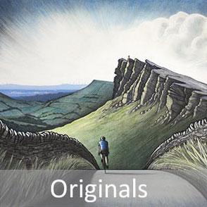 original fine art paintings and drawings