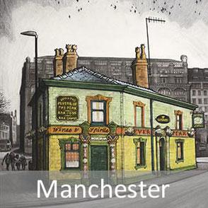 manchester cityscape art