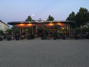 Terrasse , Außenbereich vor dem Lokal - Ristorante Da Angelo & Salvatore