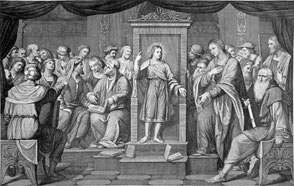 Jesus lebt im Tempel