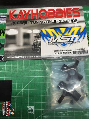 MST CMX Aluminium Knuckles (black)
