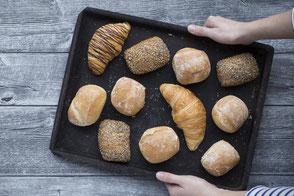 Brötchen Lütte Küster Multikorn Croissants Käse Mehrkorn