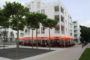 Bäckerei Küster Göttingen Filiale Fachgeschäft Windausweg Kiessee Spaziergang Campingplatz Eiswiese Badeparadies Freibad Naherholung Café Kaffee Kuchen Eis Snacks