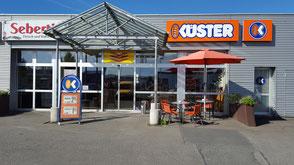 Bäckerei Küster Göttingen Filiale Fachgeschäft Rosdorf Getränkemarkt