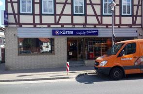Bäckerei Küster Göttingen Filiale Fachgeschäft B27 Eiergötzen Am Bökelern Edeka Markt Ausflugslokal Ausflugs-Café Frühstücks Frühstück