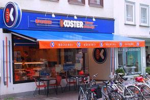 Küster Filiale Fachgeschäft Göttingen Jüdenstraße Innenstadt Stehcafé Steh-Café