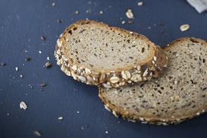 Küster Brot Mehrkorn Mehrkornbrot Leinsamen Haferflocken