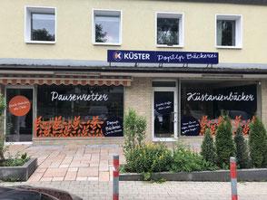 Bäckerei Küster Göttingen Filiale Fachgeschäft Ostviertel Ewaldstraße Jugendherberge THG Theodor-Heuss-Gymnasium