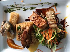 fresh fish platter curacao