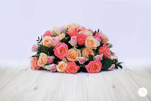rouwstuk roos, het bloemenatelier
