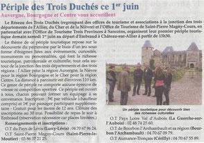 Le Bourbonnais rural, 31 mai 2013