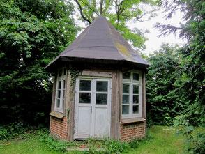 Schliemann Pavillon vor der Sanierung 2105