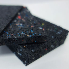 Gummigranulat Pads Terrassen
