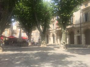 Platz in Saint Remy
