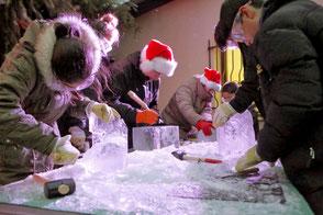 party-eis.com: Eismeißeln als Event für Unternehmen