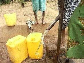 sauberes Wasser für Tayaaki