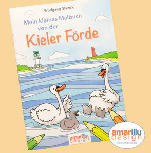 www.amarillu.de, Mein kleines Malbuch von der Kieler Förde  6,90 €