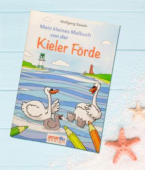 Mein kleines Malbuch von der Kieler Förde, 6,90 €