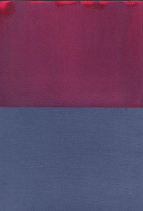 Duochrom, Acryl auf Papier, 29,7 x 21 cm, 2016