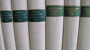 rilegatura riviste giuridiche legatoria Conti Borbone