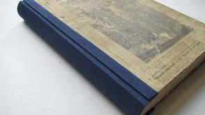 restauro dorso libro Conti Borbone