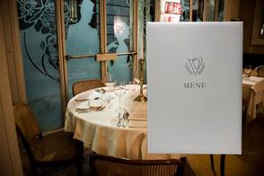 Menù ristorante Victoria by Conti Borbone