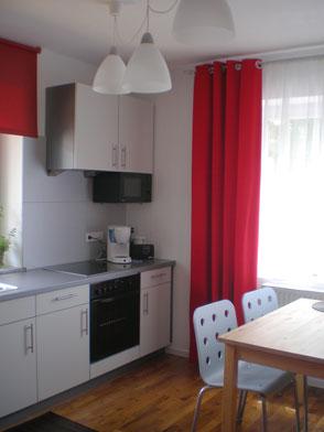 Wohnküche, Ferienwohnung 3