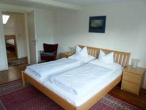 Schlafzimmer 1, Ferienwohnung 1
