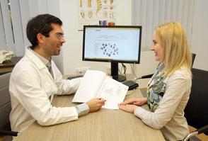 Arzt Beratungsgespräch