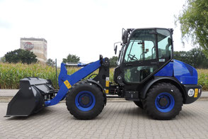 Radlader Grizzly 540 S mieten MSB Mietservice