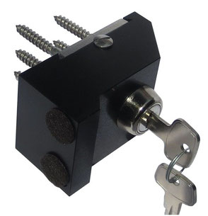 Schiebetürsicherung FTS801-key abschliessbar