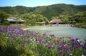 宇和島市津島・日本庭園 南楽園