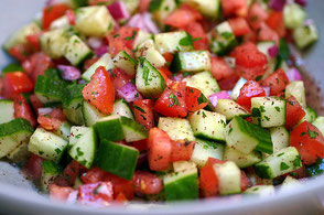 fresh healthy salads made daily