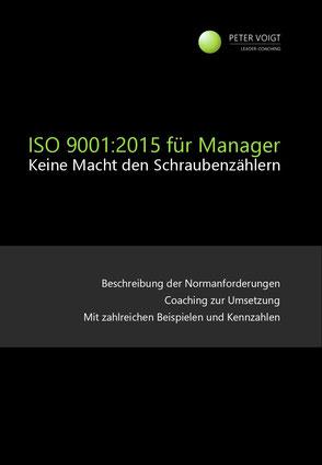 Peter Voigt ISO 9001:2015 für Manager