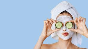 skincare routine, crema viso, viso donna