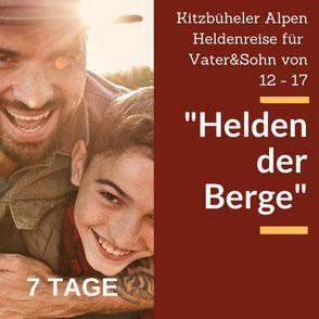 Heldenreise für Vater und Sohn mit Aktivprogramm