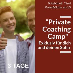 In Privaten Coachings können z.B.  Themen wie Pubertät oder Aggressionen von Jungen besprochen werden.