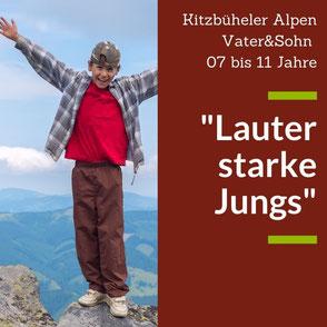 Sommerurlaub mit Kindern in den Kitzbühler Alpen