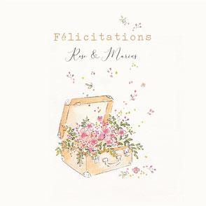 tendrement fé illustration papeterie bohème écoresponsable cartes illustrées carterie personnalisable aquarelle poétique fleurs