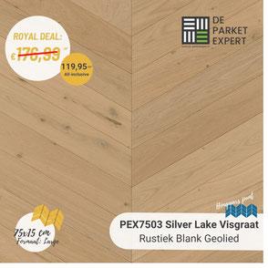 PEX7503H Silver Lake Rustiek Blank Geolied