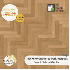 PEX7679 Gramercy Park Select Naturel Geolied