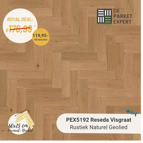 PEX5192 Reseda Rustiek Naturel Geolied