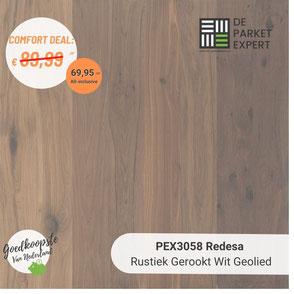 PEX3044 Redesa Rustiek Wit Geolied