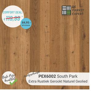 PEX6002 South Park Extra Rustiek Gerookt Naturel Geolied