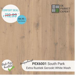 PEX6001 South Park Extra Rustiek Gerookt White Wash