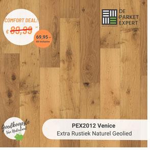 PEX2012 Venice Extra Rustiek Naturel Geolied