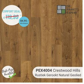 PEX4004 Crestwood Hills Rustiek Gerookt Naturel Geolied