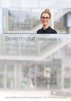 Deckblatt Design Architekt Bauzeichner Branchen bezogen