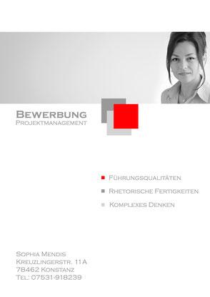 Deckblatt Design inkl. persönliche Stärken