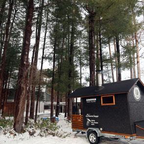 forest sauna
